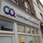 Confident Orthodontics Exterior Signage