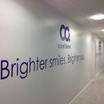 Brighter Smiles Indoor Signage
