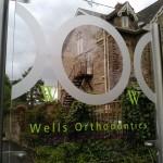 Wells Orthodontics Indoor Signage