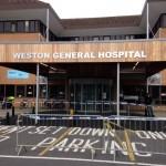Weston Hospital Exterior Signage